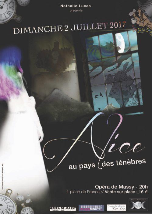 Affiche Alice au pays des ténèbres