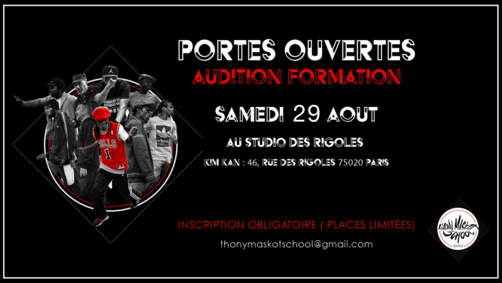Formation Pro Thony Maskot - Audition 2020
