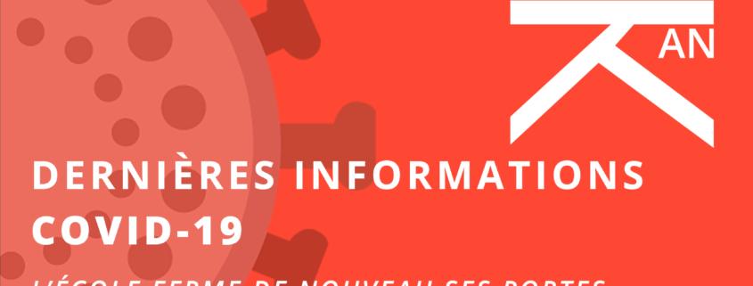 Dernieres infos en date du17012021